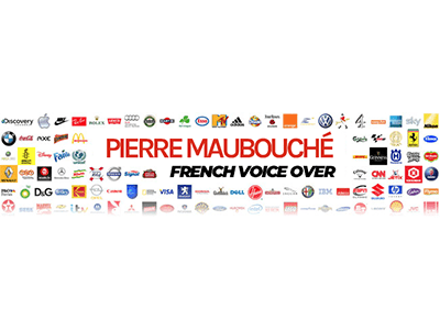 The French Voice Logo